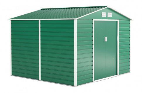 GAH 706 kerti fém tároló - 277 x 255 cm, zöld