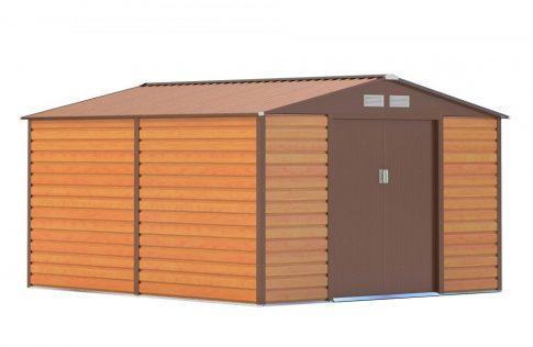 GAH 884 - 277 x 319 cm kerti tároló, barna