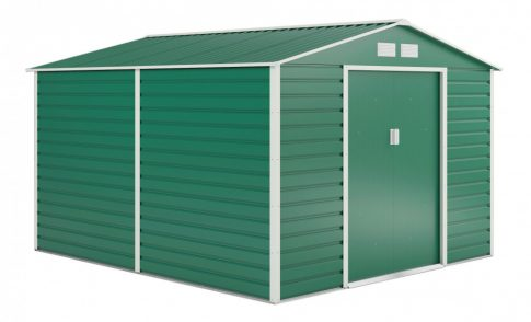 GAH 884 kerti fém tároló - 277 x 319 cm, zöld