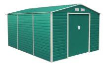 GAH 1300 kerti fém tároló - 340 x 382 cm, zöld