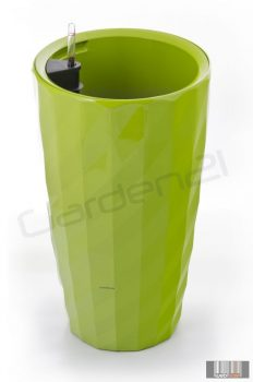 Diamant önöntöző kaspó, zöld, 57 cm