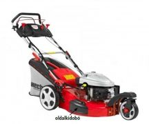 HECHT 5563SXE Benzinmotoros Fűnyíró, Önjáró, Három Kerekű