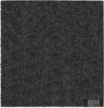 ReFlex Esésvédő Gumilap (Vastagság: 4 cm, Méret: 100X100 cm, fekete)