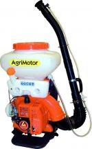 Agrimotor 3WF-3 Benzinmotoros háti permetező levegős permetező, porzásra is