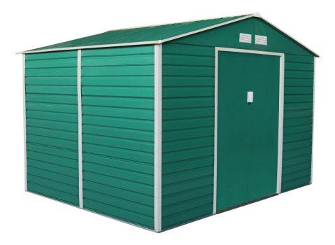 GAH 529 kerti fém tároló - 277 x 191 cm, zöld