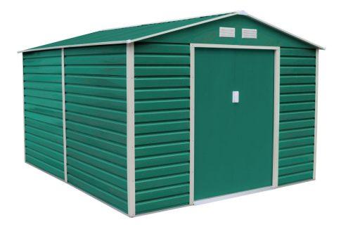 GAH 1085 kerti fém tároló - 340 x 319 cm, zöld