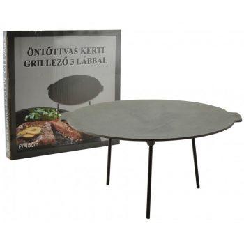 Perfect Home Öntöttvas grill tárcsa - boronatárcsa 45 cm 15501